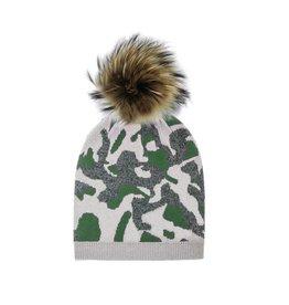 Maniere Maniere Teen Camouflage Beanie