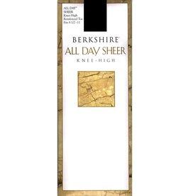 Berkshire Berkshire Sheer Reinforced Toe Knee Highs - 6355