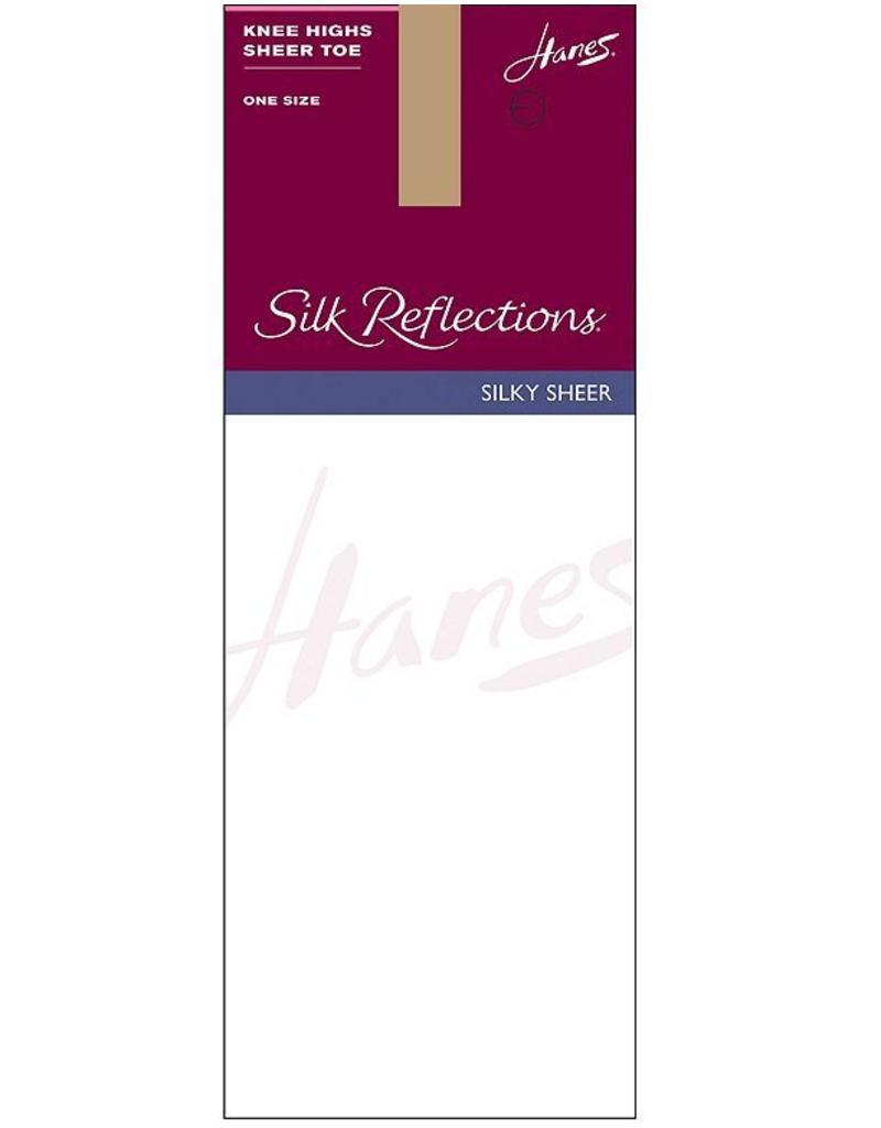 Hanes Hanes Silk Reflections Silky Sheer Knee Highs 725