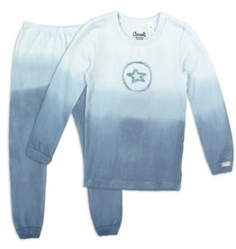 Coccoli Coccoli Navy Circled Star Pajamas