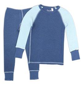 Coccoli Coccoli Modal Navy Waffle Pajamas