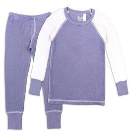 Coccoli Coccoli Modal Purple Waffle Pajamas