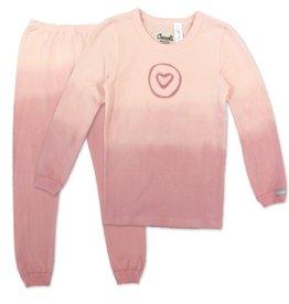 Coccoli Coccoli Pink Circled Heart Pajamas