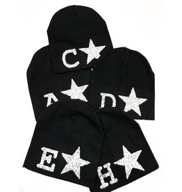 Bands With Personality Initial beanie