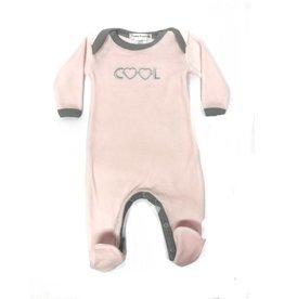 Coton PomPom Coton PomPom Cool Pink Footie
