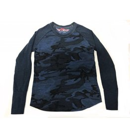 So Nikki So Nikki Blue Camouflage Long Sleeve