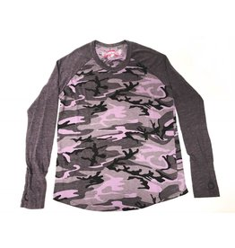 So Nikki So Nikki Purple Camouflage Long Sleeve