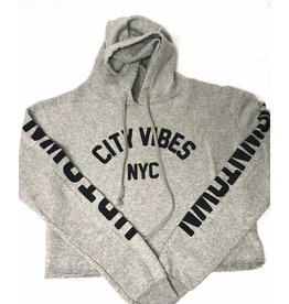 So Nikki So Nikki Charcoal NYC Sweater