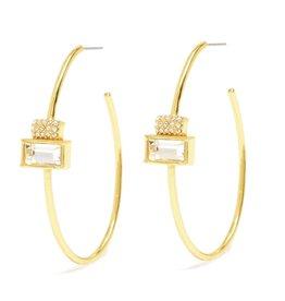 Melissa Lovy Melissa Lovy Davenport Hoop Earrings