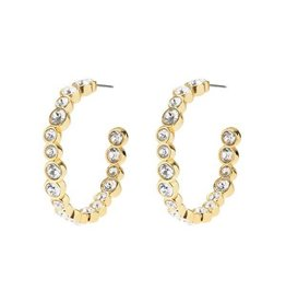 Melissa Lovy Melissa Lovy Baby Blair Hoop Earrings