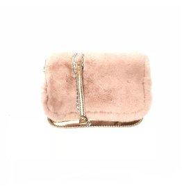 Bari Lynn Bari Lynn Fur Pocket Crossbody