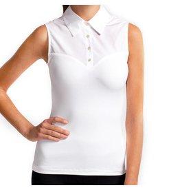 Skinny Shirt Skinny Shirt White Sleeveless - CSCOT100