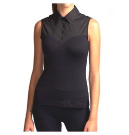 Skinny Shirt Skinny Shirt Black Sleeveless - CSCOT100