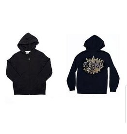 "Winx + Blinx Winx and Blinx Gold ""Boom"" Hoodie"