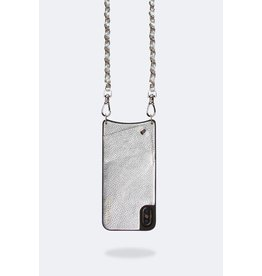 Bandolier Bandolier Lucy Silver Crossbody for iPhone