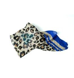 Ana & Ava Ana and Ava Leopard Hairwrap
