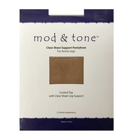Mod & Tone Mod & Tone Sheer Support CT 12D Pantyhose - 1220