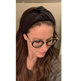 becca + bella becca + bella French Twist Turban (Black)