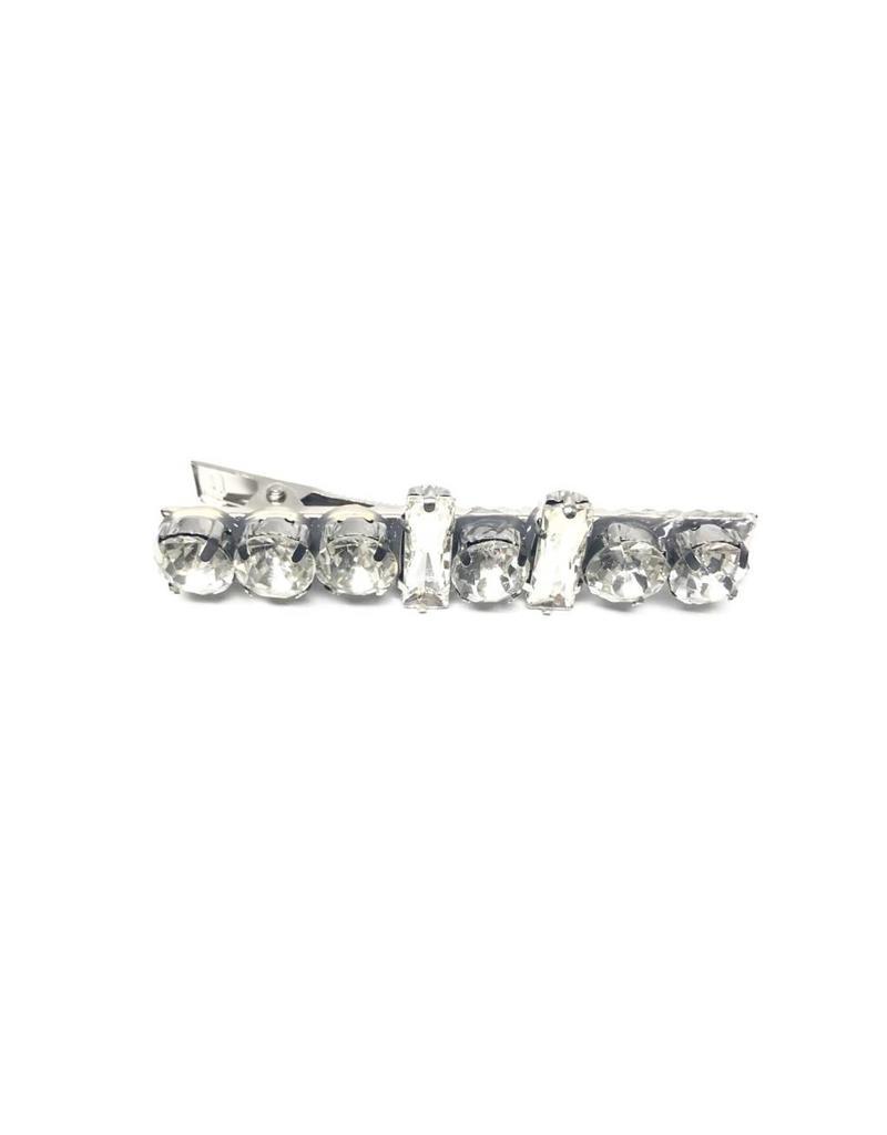 Nolabel Nolabel Clear Gemstone Clip