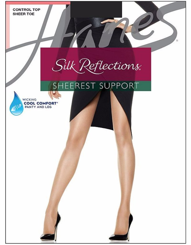 Hanes Hanes Silk Reflections Sheerest Support CT Sheer Toe - 0B750