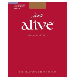 Hanes Hanes Alive Sheer to Waist Support Sheer Toe - 811