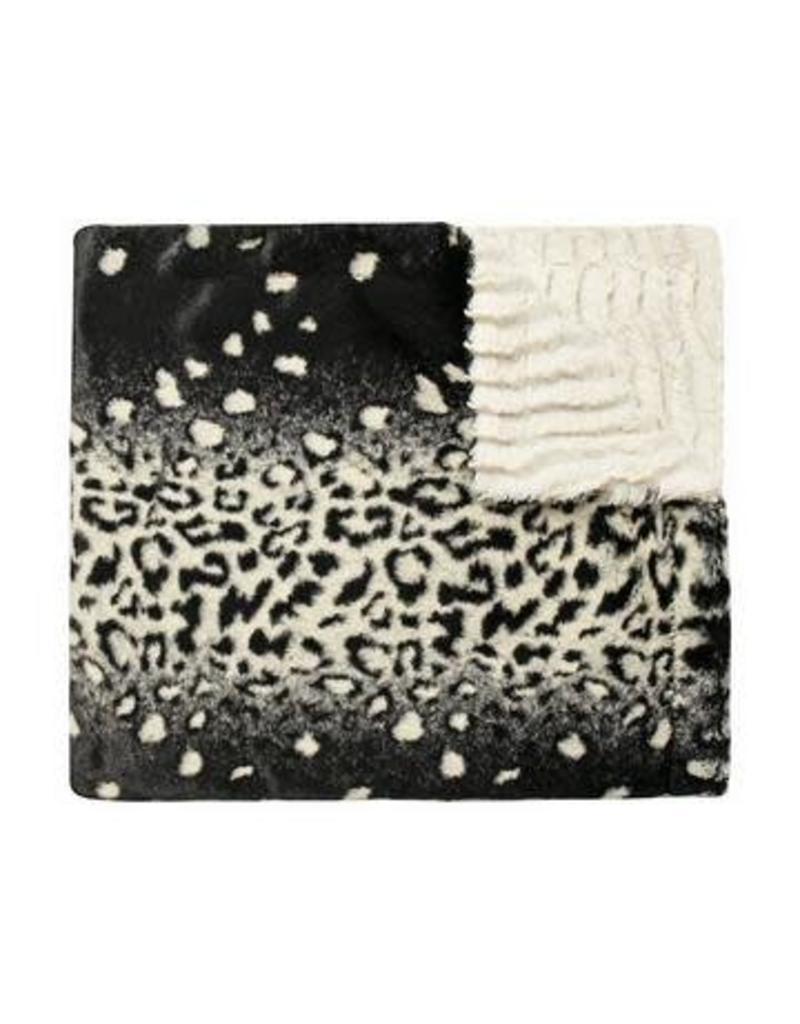 Winx + Blinx Winx + Blinx Minky Blanket Glam Leopard