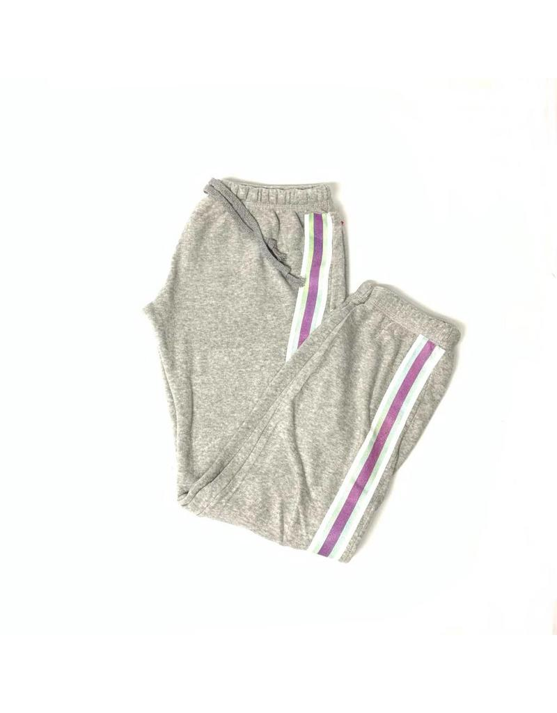 So Nikki So Nikki Girls Fleece Pant Stripe