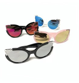 Bari Lynn Bari Lynn Cat Eye Sunglasses