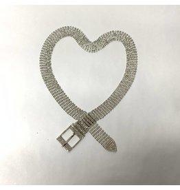 Nolabel Nolabel Crystal Belt