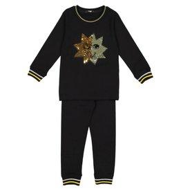 Noggi Noggi Swipe Sequin Loungewear Set