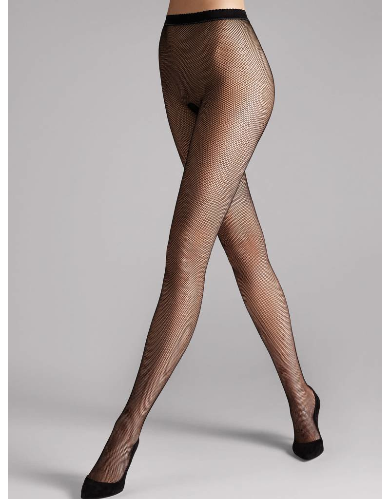 Wolford Wolford Twenties Fishnet Tights - 11889