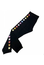 So Nikki So Nikki Kids Rainbow Stars Vintage Capri Black