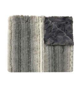 Winx + Blinx Winx+Blinx Plush ombre minky blanket grey