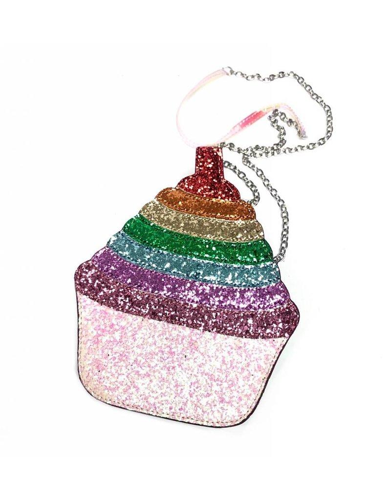 Bari Lynn Bari Lynn 3D Shape Cupcake bag