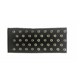 DaCee Dacee Circle Nailheads Turban
