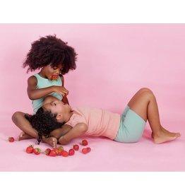 Petals & Peas Petals & Peas Ribbed Shirt & Short Set