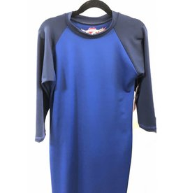 So Nikki So Nikki Kids Blue/Navy Two Tone Swim Cover up