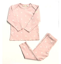 Kiki-O Fragile 2pc Set with Star Print and Silver Speckles