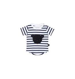 Huxbaby HuxBaby Stripe Tshirt with Star Legging Set
