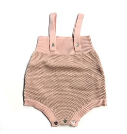 Clo Clo Baby Honeycomb Knit Overall