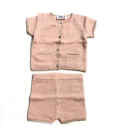 Kiki-O Milk Baby 2pc Knit Set