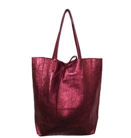 Jijou Capri Jijou Capri Metallic Leather Bag