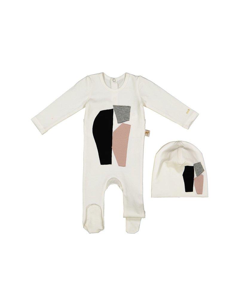 Zeebra Zeebra Abstract Shape PJ Baby Set