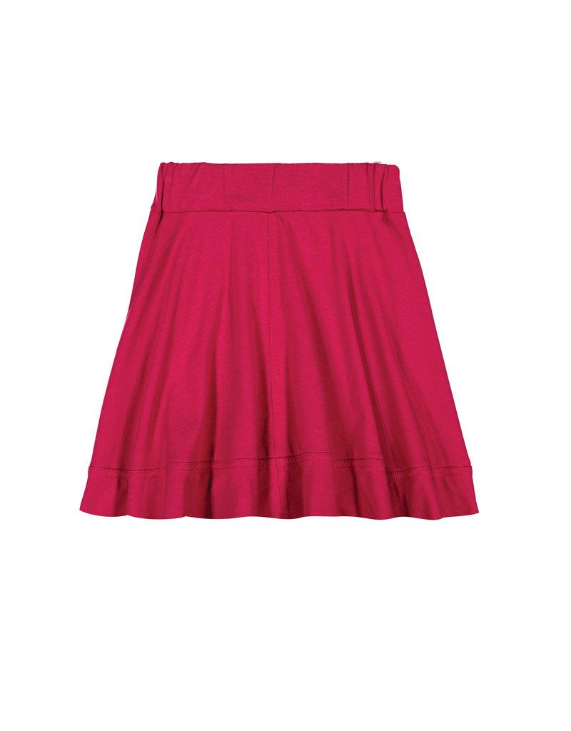 Teela Teela Basic Knit Circle Cut Solid Skirt