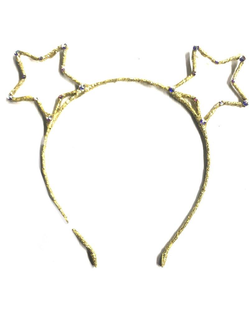 Bari Lynn Bari Lynn Crystal Double Star Headband