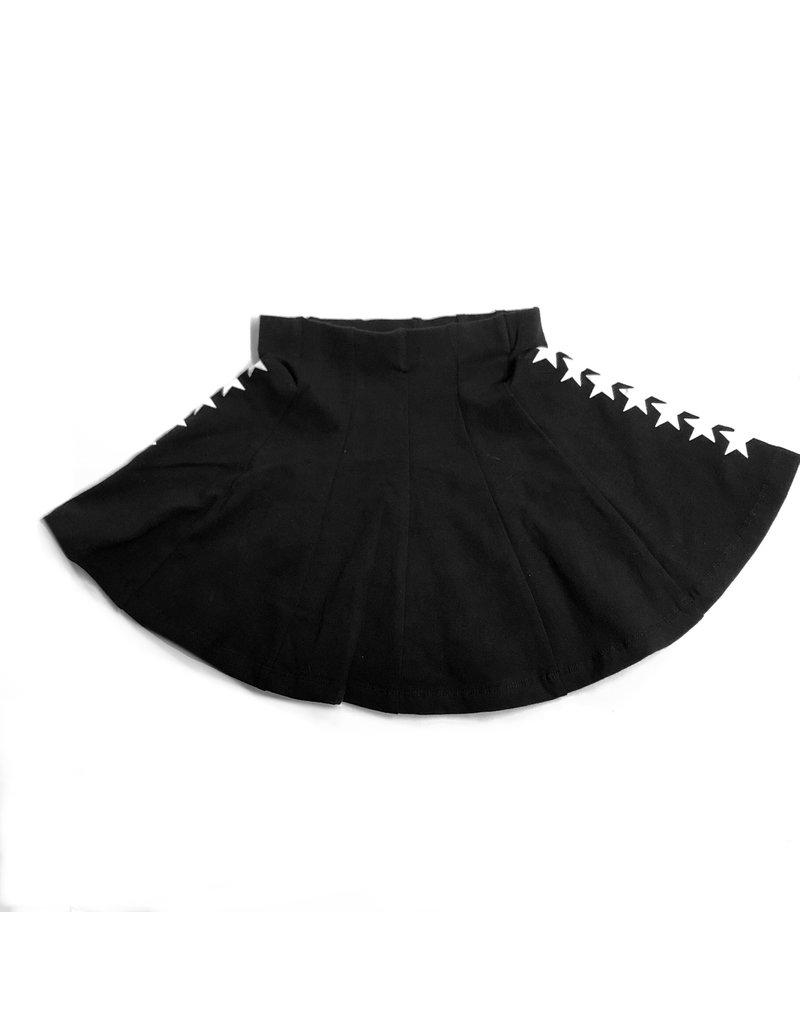 Kiki-O 5 Stars Girls Panel Skirt With Stars