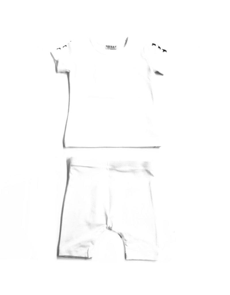 Kiki-O 5 Star Girls 3/4 Sleeve Shirt With Stars and Leggings Set