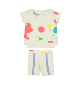Teela Teela Paint Splatter Baby Set