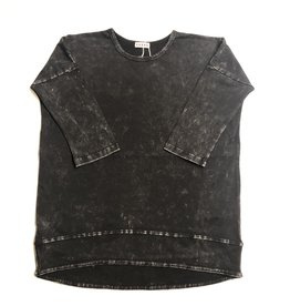 Kiki-O 5 Star Girls Drop Shoulder Wash Top