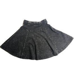 Kiki-O 5 Star Girls Wash Flare Skirt With Side Cut